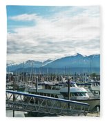 Seward Alaska Fleece Blanket