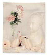 Shabby Chic Ballet Fleece Blanket