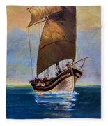 Ship Ahoy Fleece Blanket
