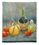 Sicilian Table Fleece Blanket