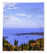 Sicily View Fleece Blanket