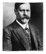 Sigmund Freud (1856-1939) Fleece Blanket