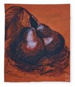 Simply Pears Fleece Blanket