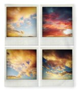 Skies Fleece Blanket