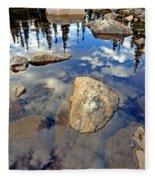 Sky Reflections Fleece Blanket