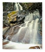 Smoky Mountain Falls Fleece Blanket