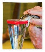 Snake Venom Extraction Fleece Blanket