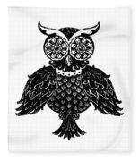 Sophisticated Owls 1 Of 4 Fleece Blanket