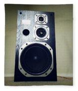 Speaker Fleece Blanket