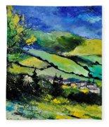 Spring Landscape  Fleece Blanket