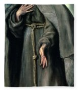 St Francis Of Assisi Fleece Blanket
