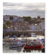 St Peter Port - Guernsey Fleece Blanket