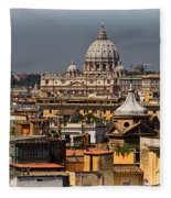 St Peters Basilica Fleece Blanket