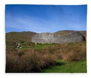 Staigue Fort At 2,500 Years Old One Fleece Blanket