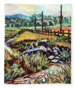 Stroubles Creek Fleece Blanket