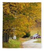 Sugar Mill Vermont Fleece Blanket