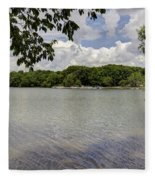 Summer Time At Moraine View State Park Fleece Blanket