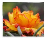 Sundial Portulaca Fleece Blanket