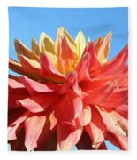 Sunny Center Fleece Blanket