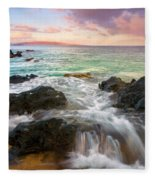 Sunrise Surge Fleece Blanket