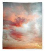 Sunset Sky Fleece Blanket