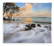 Sunset Tides Fleece Blanket