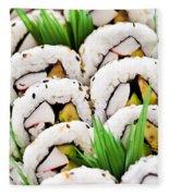 Sushi Platter Fleece Blanket