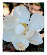 Sweet Magnolia Fleece Blanket