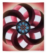 Synergy Mandala 3 Fleece Blanket