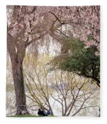Spring Break Fleece Blanket