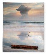 Talisker Bay Sunset Fleece Blanket
