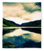 Talyllyn Lake Snowdonia Fleece Blanket