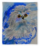 Teacup Owl Fleece Blanket
