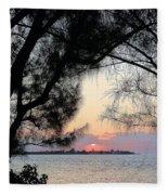Tequila Sunrise Fleece Blanket