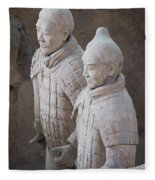 Terracotta Warriors, China Fleece Blanket