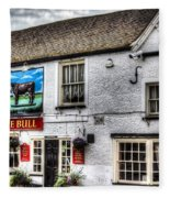 The Bull Pub Theydon Bois Essex Fleece Blanket