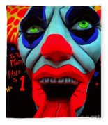 The Clown Fleece Blanket