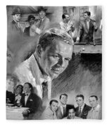 The Rat Pack  Fleece Blanket