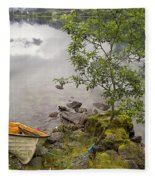 The Rowing Boat Fleece Blanket