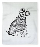 The Sweater Girl Fleece Blanket