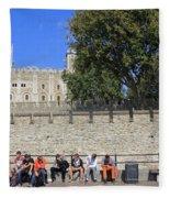 The Tower Of London Fleece Blanket
