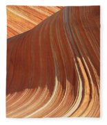 The Wave In The North Coyote Buttes Fleece Blanket