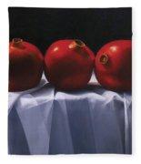 Three Pomegranates Fleece Blanket