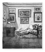 Thurlow Weed (1797-1882) Fleece Blanket