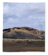 Timanfaya National Park Fleece Blanket