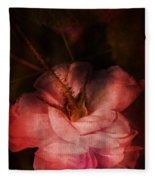 Time Of Roses Fleece Blanket