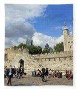 Tower Of London Fleece Blanket