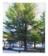Tree 1 Fleece Blanket