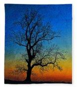 Tree Skeleton Fleece Blanket