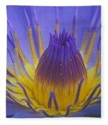Tropic Water Lily 16 Fleece Blanket